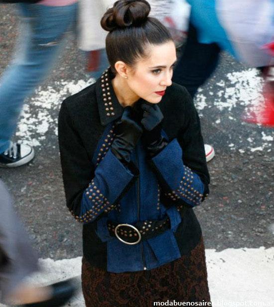Abrigos y camperas 2013 moda argentina