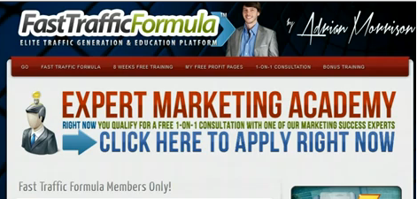 Adrian Morrison Fast Traffic Formula Review