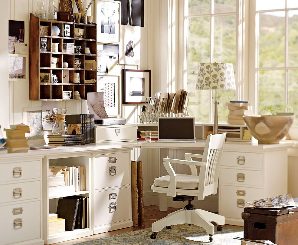 Pottery Barn Office 985 x 808