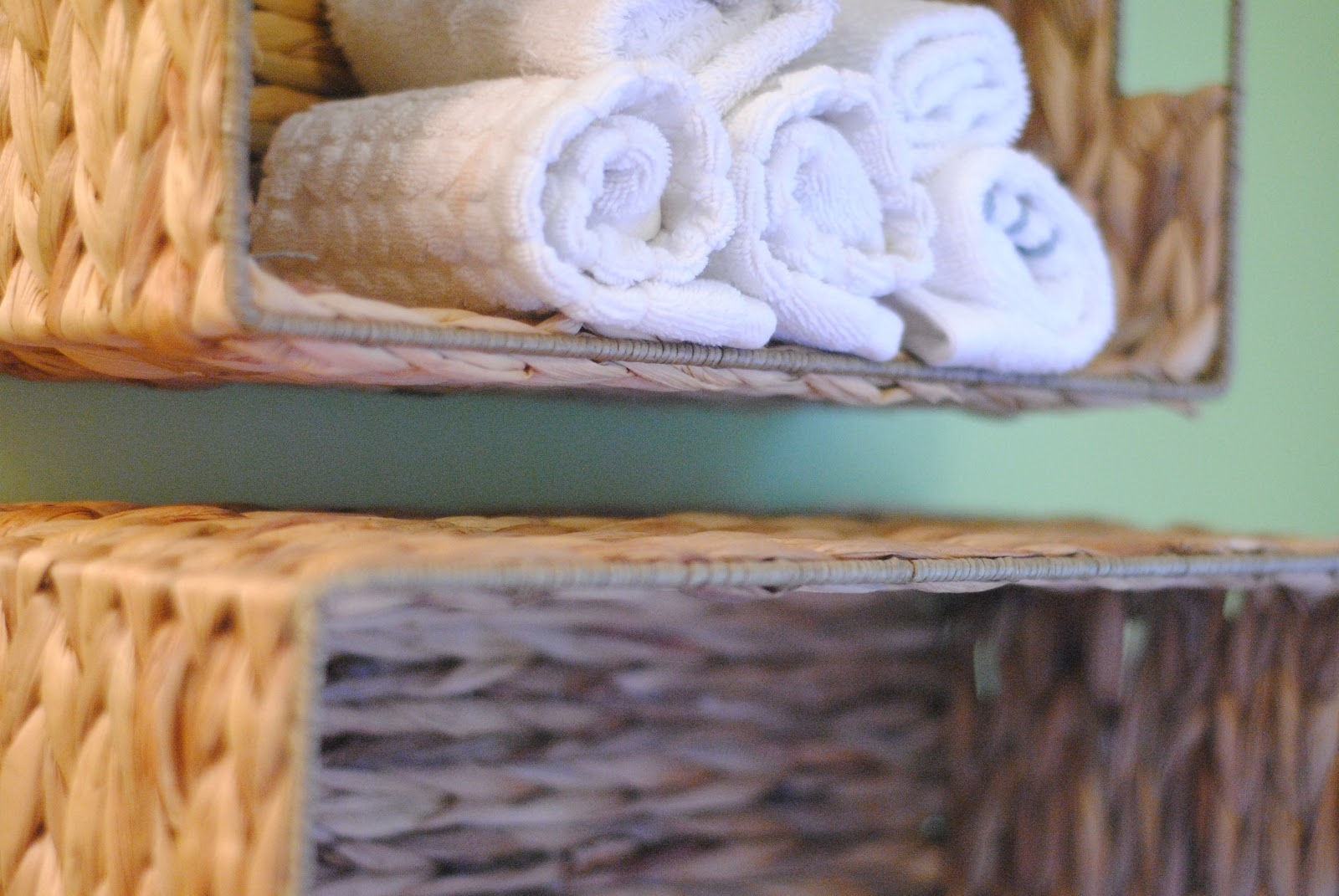 Bathroom Towel Storage diy bathroom towel storage in under 5 minutes | making lemonade