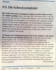 Wir fordern mehr Schweizer in Schweizer Gefängnissen