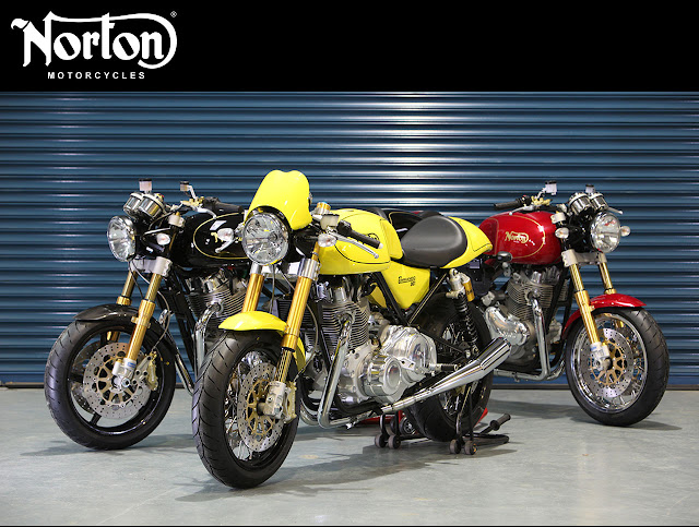 2012 Norton Commando 961 Cafe Racer - 2012 Norton Commando 961 Sport - 2012 Norton Commando 961 SE