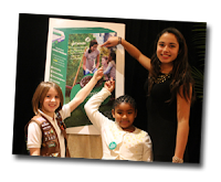 Girl Scouts from Nassau County are on the New Girl Scout Cookie Box