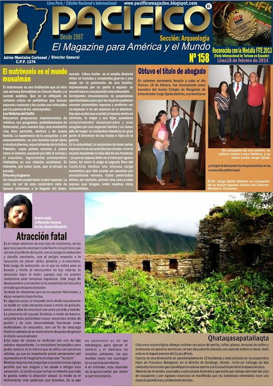Revista Pacífico Nº 158 Arqueología