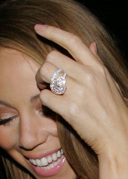Beyonce Wedding Ring 82 Nice MARIAH CAREY uS ENGAGEMENT