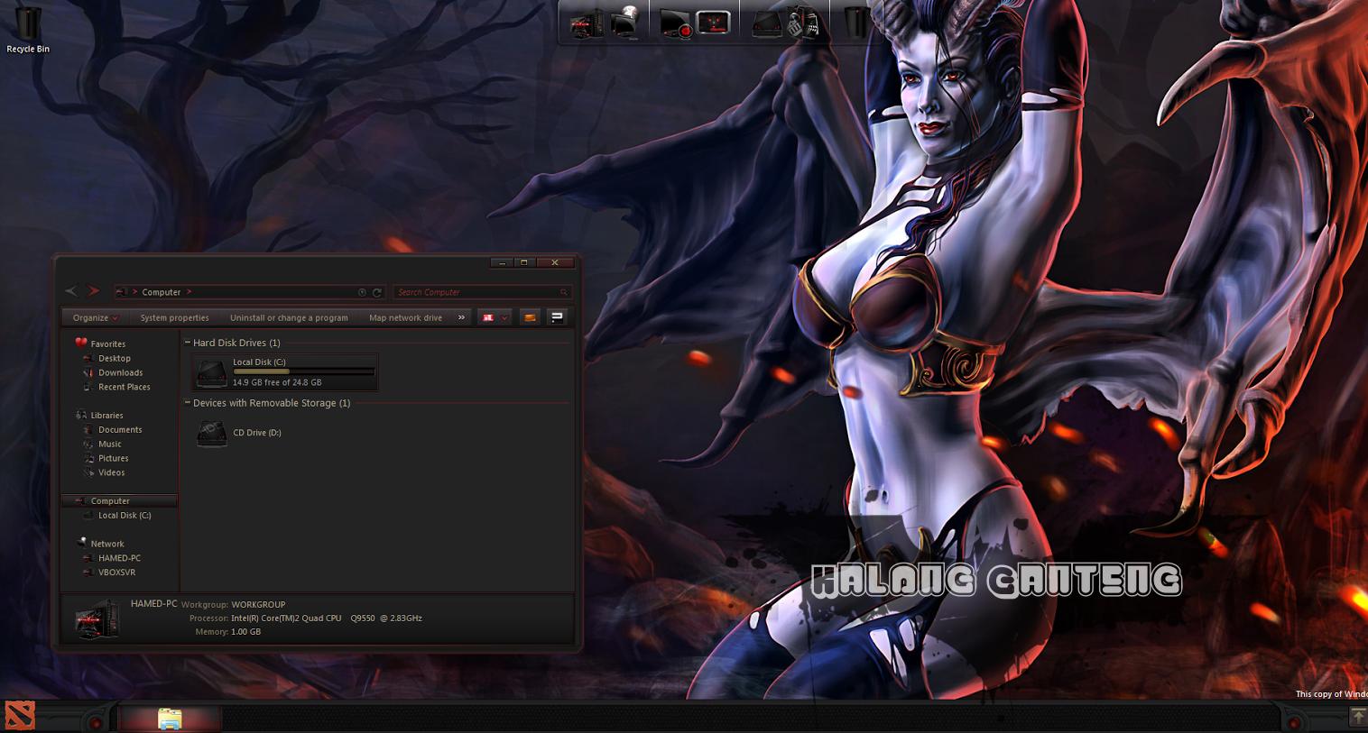 DOTA2 SkinPack Screenshot windows 7