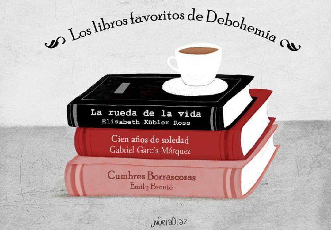 Los libros favoritos de Debohemia