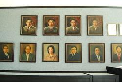 Foto foto pendiri dan penerus Jamu Jago Semarang