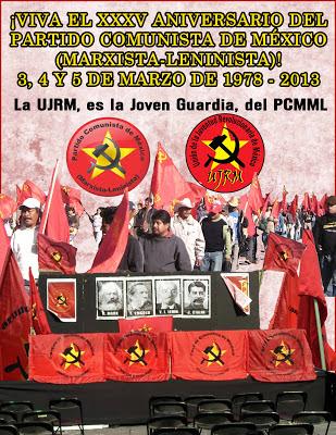 XXXV Aniversario del Partido Comunista de México (marxista-leninista)
