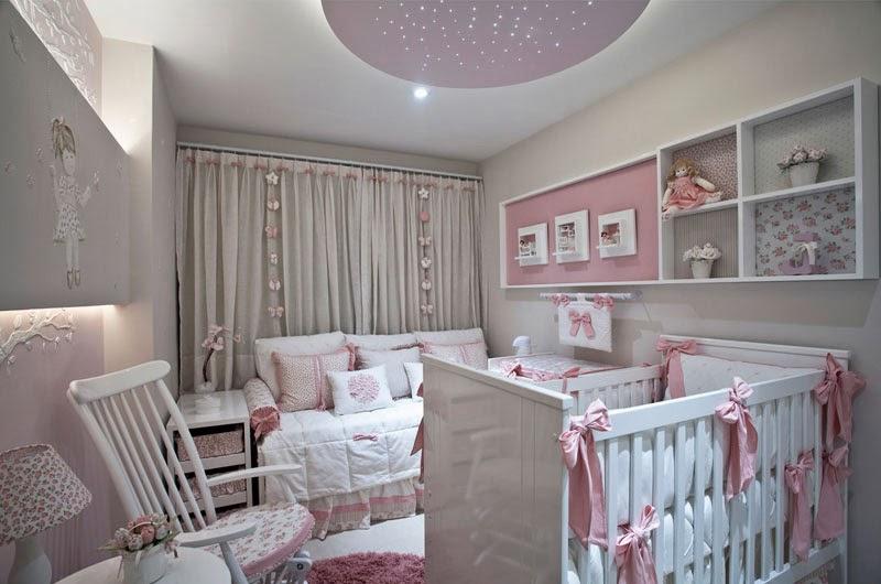 50 Quartos de bebês decorados meninos e meninas