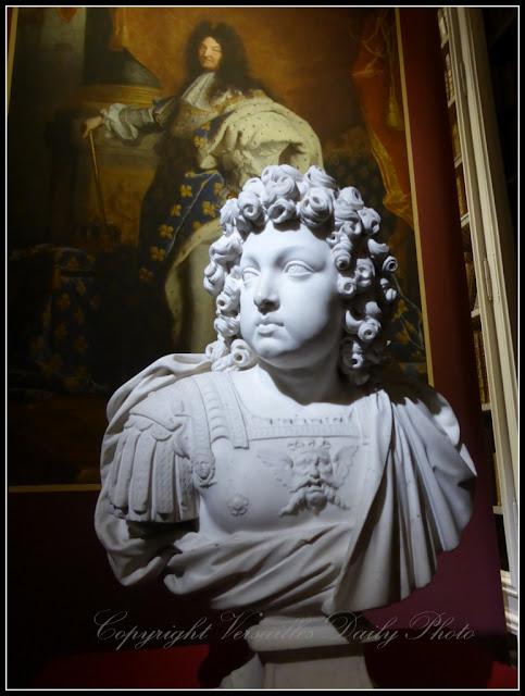 Buste Louis XIV enfant Jacques  Sarazin Versailles