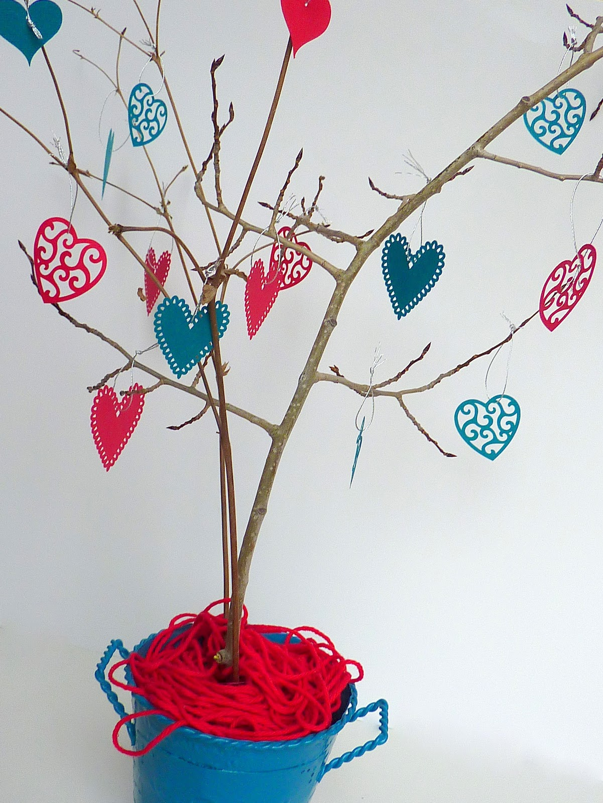 No Time To Be Bored Heart Tree Tutorial