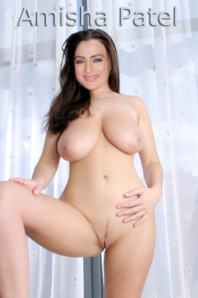 nude 10 actresses: amisha patel fakes pics