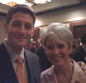 Paul Ryan and Saucedo Mercer