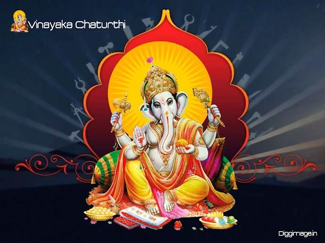 Vinayaka Chavithi Greeting cards ,Wishes Quotes , wallpaper