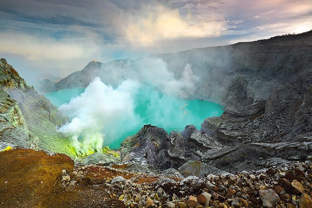 Ijen Crater, East Java, Indonesia
