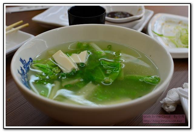 青菜豆腐湯 (30元)