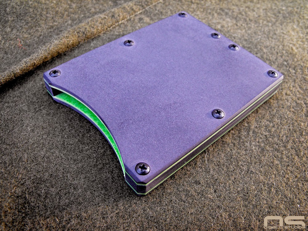 DIY micarta, everyday carry card wallet, minimalist wallet, card holder