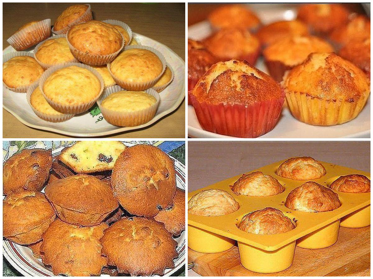 Творожные кексы рецепт с фото пошаговый Едим Дома 93