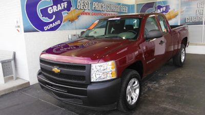 One-Owner Used 2013 Chevrolet Silverado for Sale Swartz Creek