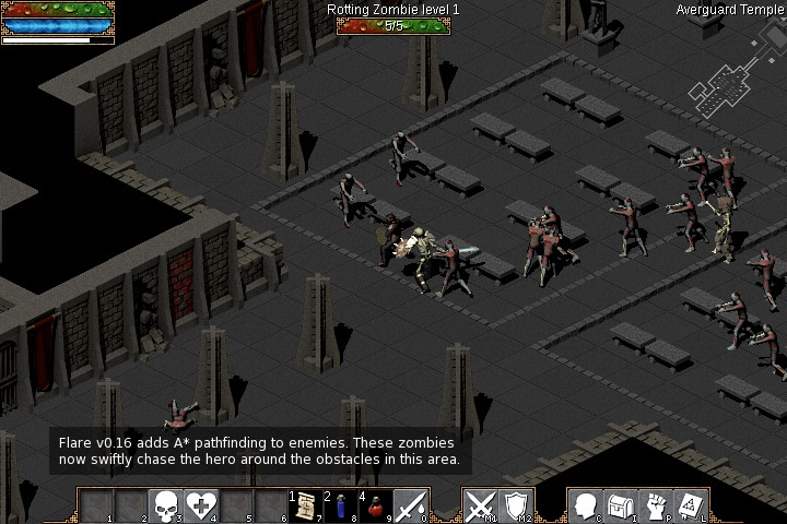 Diablo Like Action Rpg Game Flare Now Available In