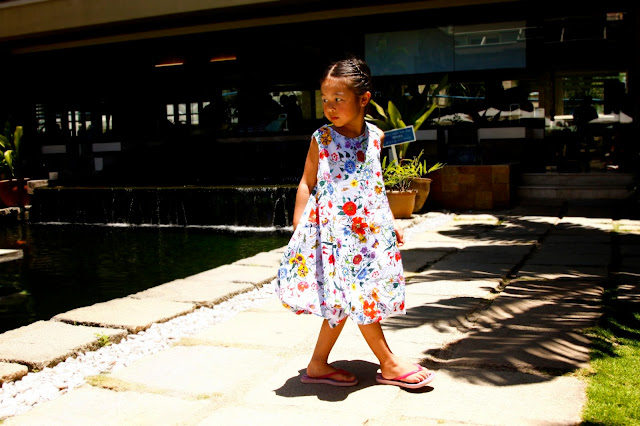 Stella Cove Blue Floral Dress | Chichi Mary Kids Boutique