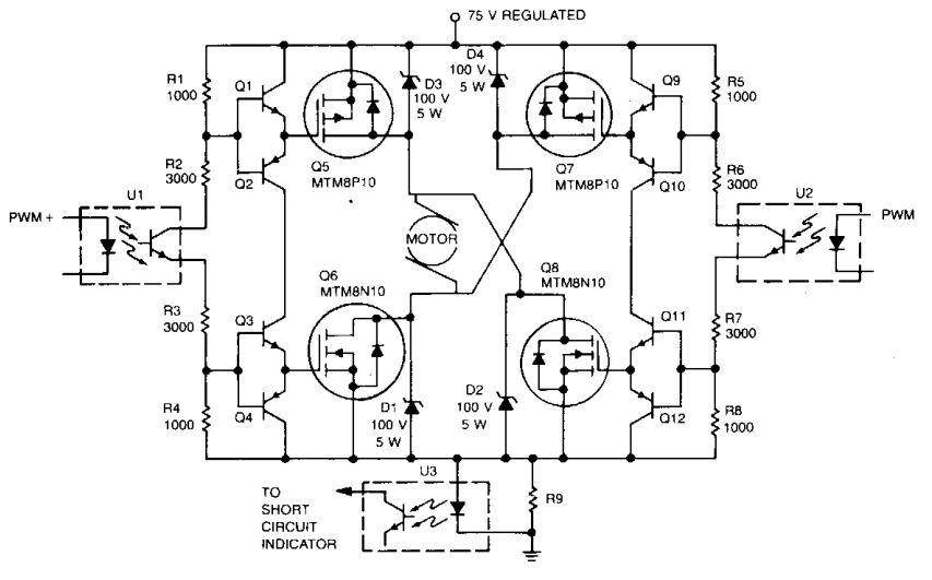 digital ics drive amplifier circuit diagram