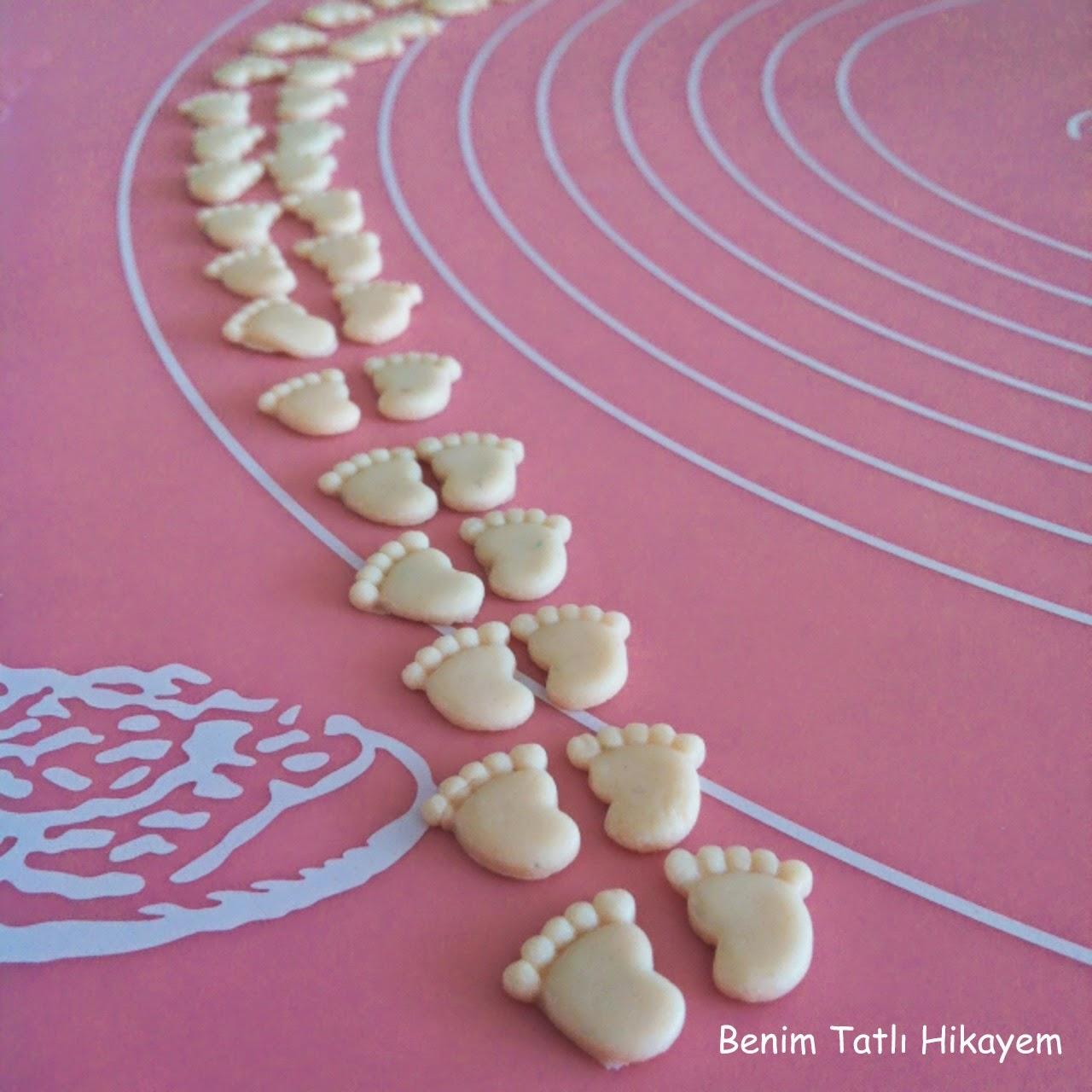 şeker hamuru bebek temalı silikon kalıp