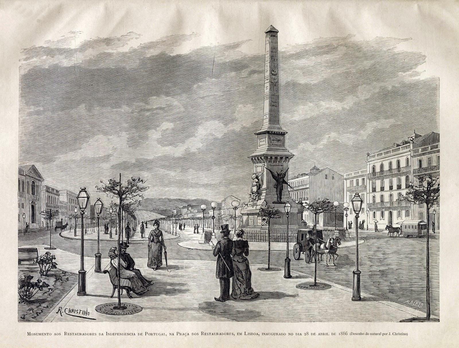 Monumento aos Restauradores da Independência de Portugal de 1640