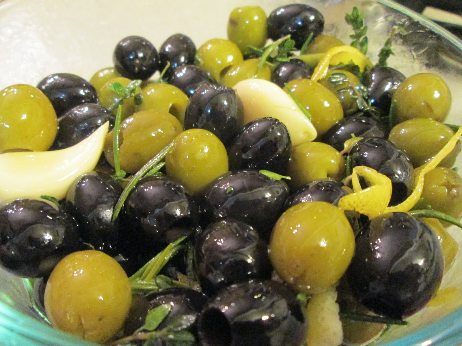 Corcoran Street Kitchen: Citrus Marinated Olives