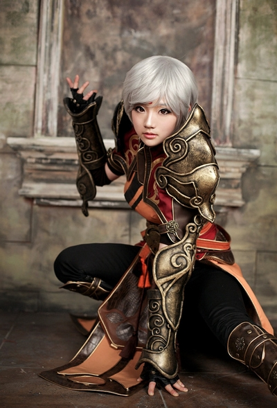 Female Monk Spcats Diablo III Cosplay