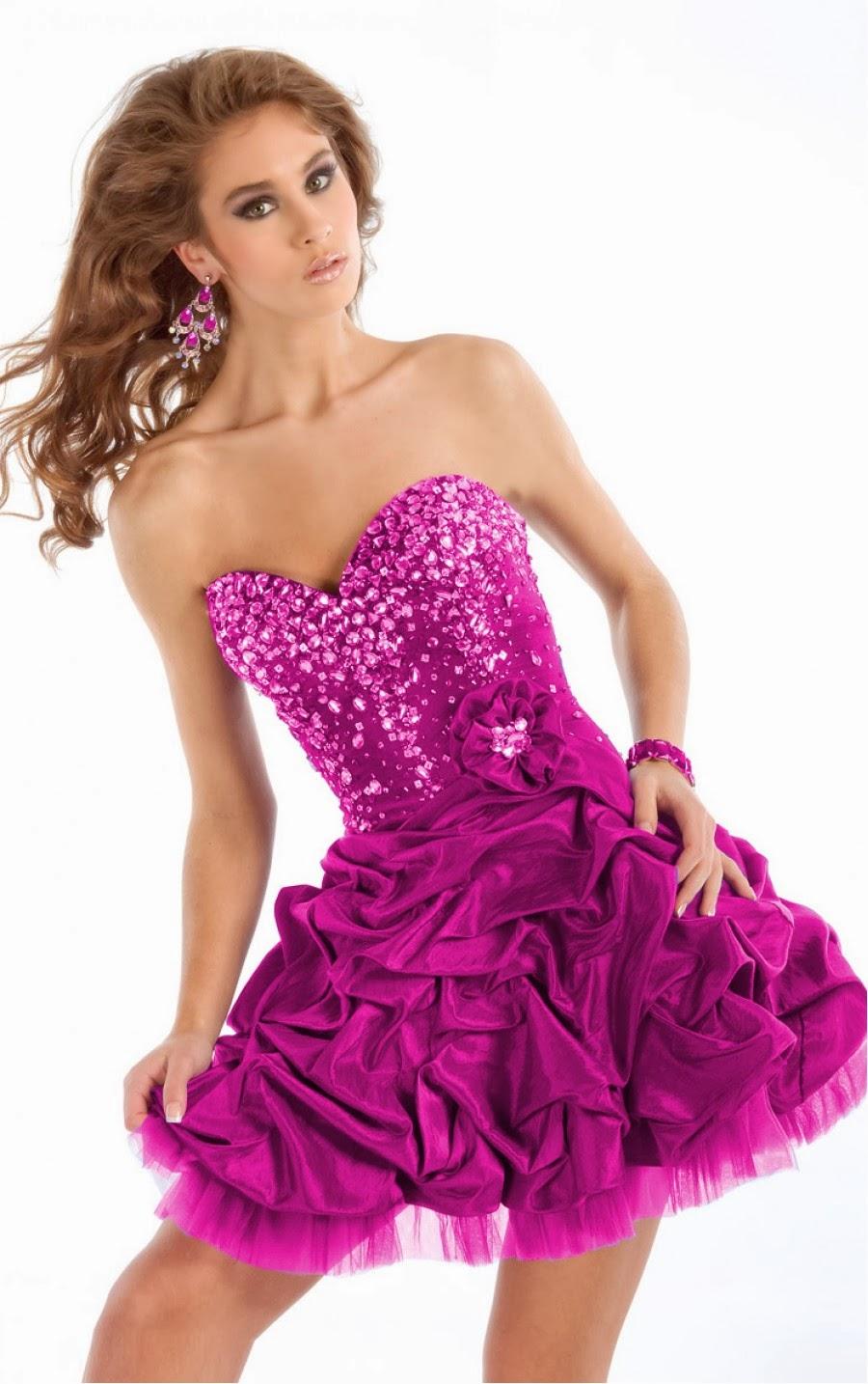 Asombroso Vestidos De Fiesta Chique Embellecimiento - Ideas de ...