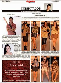 Jornal Agora - Katriny (coluna Rodrigo Bessa )