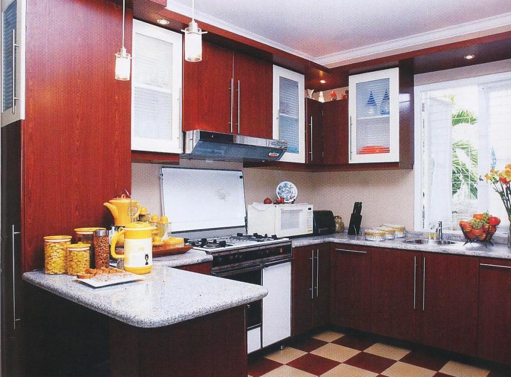 Desain dapur minimalis modern kecil tapi cantik for Kitchen dapur