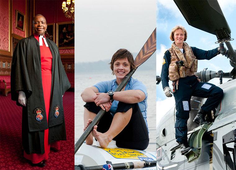 Anita Corbin retrata e conta a histórias das mulheres pioneiras em suas profissões da Inglaterra