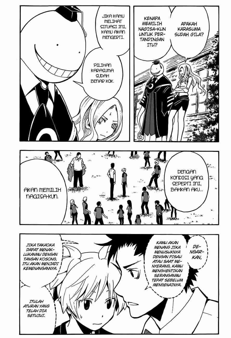 Komik assassination classroom 041 - waktunya talenta beraksi 42 Indonesia assassination classroom 041 - waktunya talenta beraksi Terbaru 3|Baca Manga Komik Indonesia|Mangacan