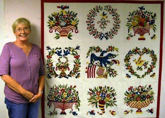 Little Quilts Blog Mary Simon Baltimore Album Quilt