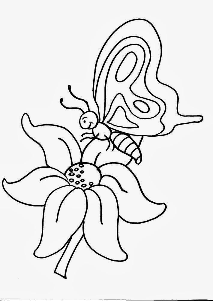 Disegni da colorare di farfalle for Immagini di cani da colorare