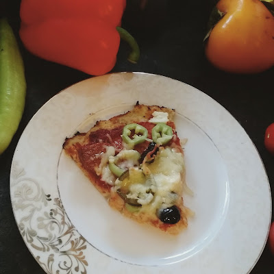 Unsuz Karnabahar Pizzası Nasıl Yapılır? / Cauliflower Pizza