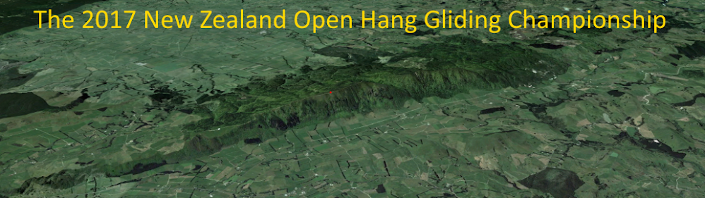 New Zealand Hang Gliding Nationals Paeroas 2017