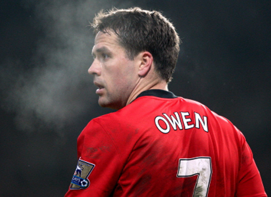 Michael owen wallpaper 2011. Michael Owen No.7 Manchester United 2011