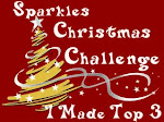 Top 3 at Sparle Christmas Challenge