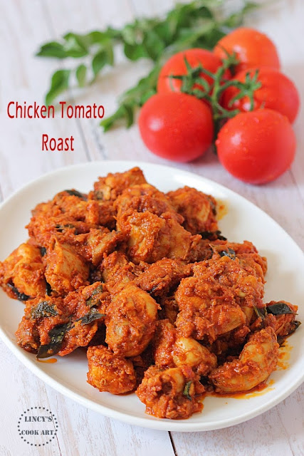 Chicken Tomato Thokku