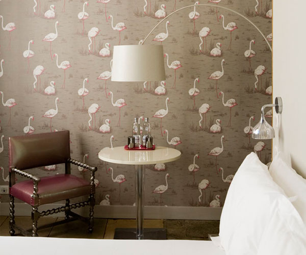 esdesign wallpaper wednesday cole and son 39 flamingos 39