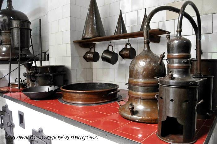 Laboratorio del Museo Farmacéutico Ernesto Triolet, en la ciudad de Matanza, Cuba.