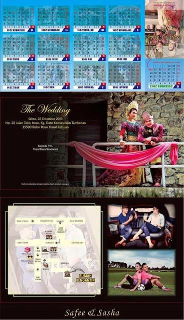 gambar kad kahwin safee sali, safee sali, gambar safee sali dan sasha, gambar perkahwinan safee sali dan sasha, gambar bakal isteri safee sali, safee sali kahwin dengan orang indonesia, gambar isteri safee sali
