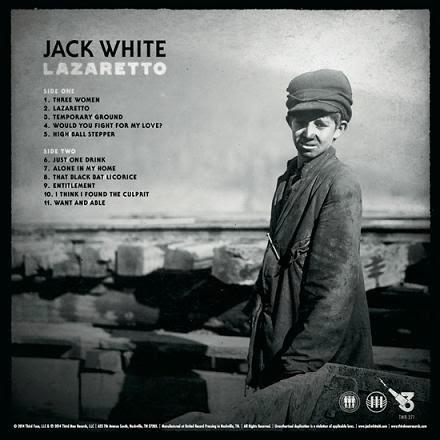 JACK WHITE - (2014) Lazaretto