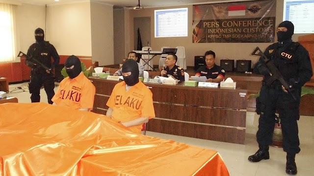 Bea Cukai Bandara Soetta Gagalkan Penyelundupan Sabu Rp17,7 M