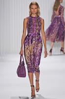Елегантна рокля с принт J. Mendel пролет-лято 2013