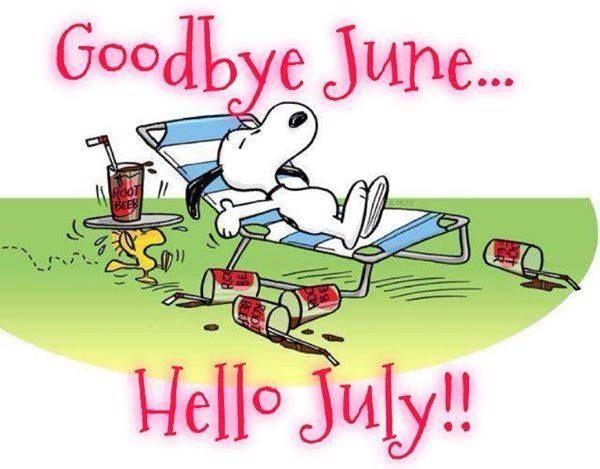 Hello July .